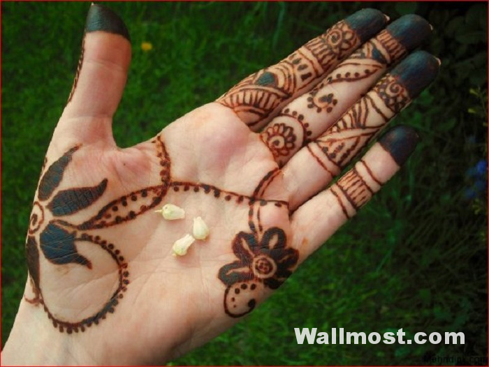 Simple Mehndi Designs 25