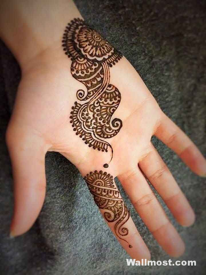 Simple Mehndi Designs 29