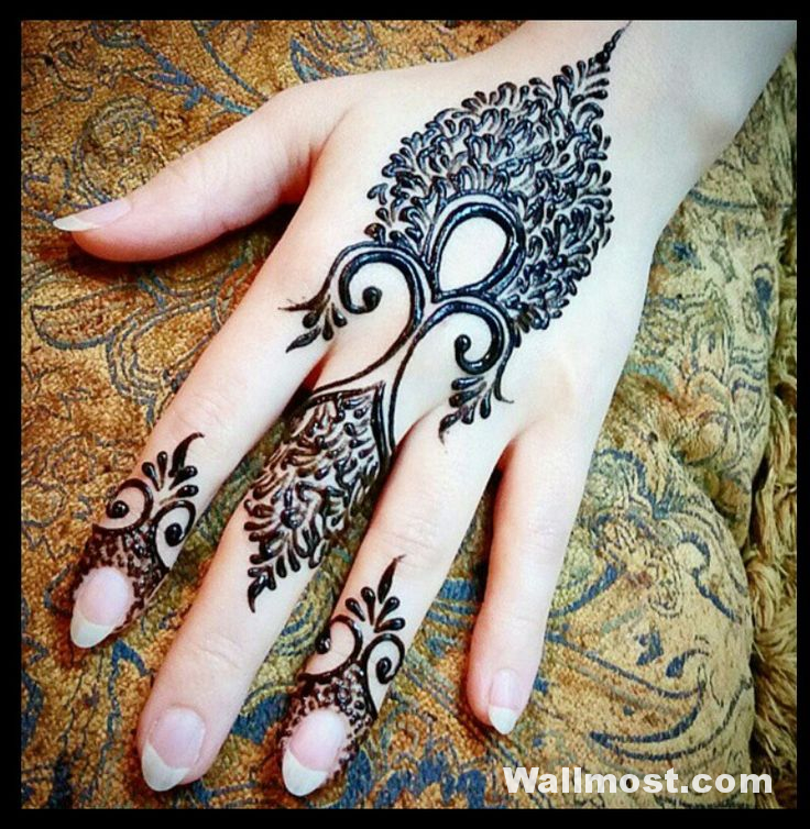 Simple Mehndi Designs 31