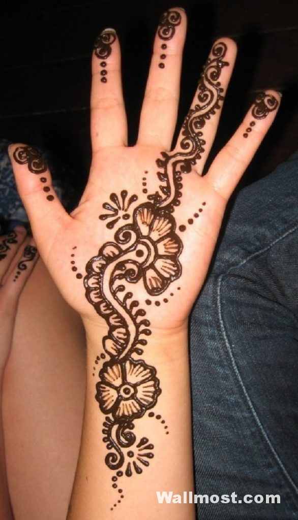 Simple Mehndi Designs 33