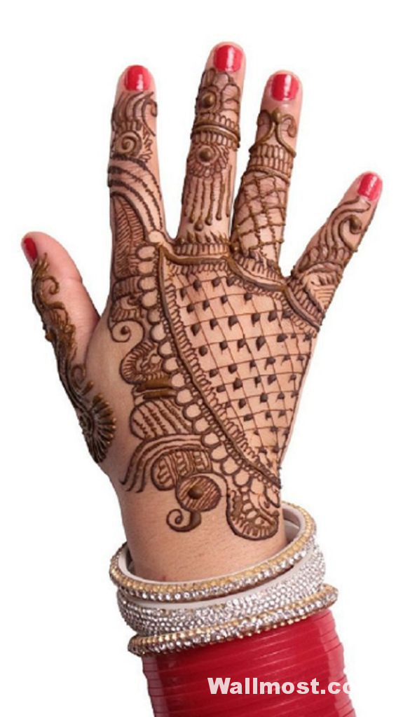 Simple Mehndi Designs 35
